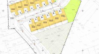 Terrain pour la construction de maisons en bande