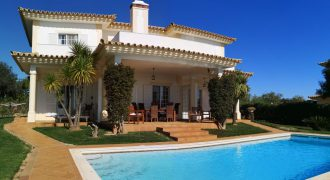 Villa V3 on golf course in Maragota with sea and pool view